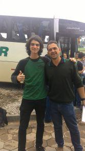 Pedro Mathias e Professor João